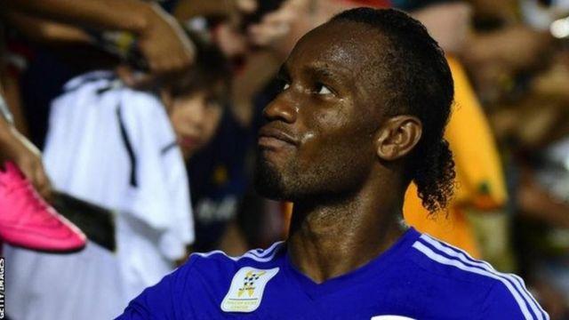 Didier Drogba ya lashe kofin Premier da na zakarun turai guda hudu da Chelsea