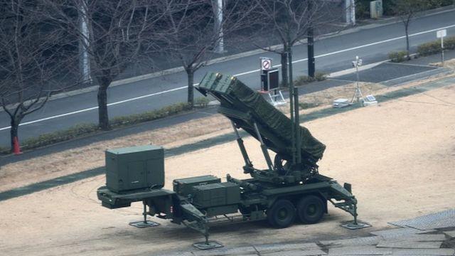 เครื่องยิงขีปนาวุธของญี่ปุ่น