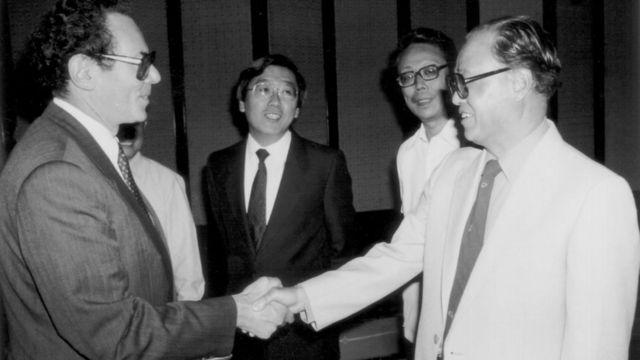 Zhao Ziyang y János Kornai