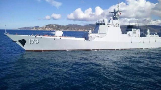 中國海軍今年計劃新部署4艘最先進的導彈驅逐艦。中國的導彈驅逐艦長沙號