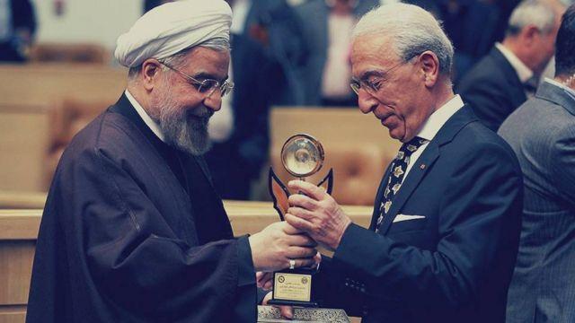 پروفسور سمیعی و حسن روحانی