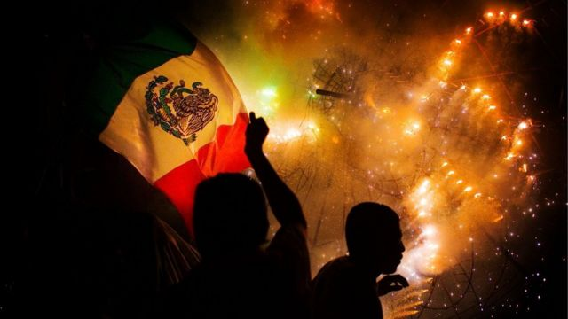Celebracion de la Revolucion Mexicana