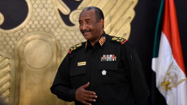 - رئيس مجلس السيادة السوداني عبد الفتاح البرهان