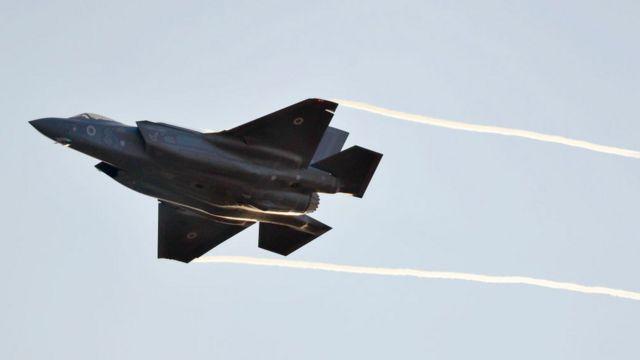 F-35 em vôo
