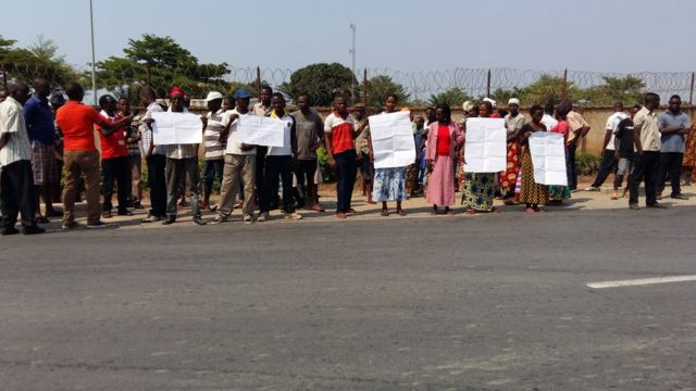 Burundi, manifestation