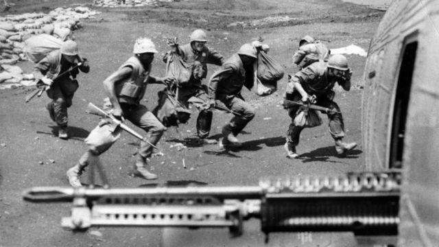 18/4/1968: Thủy quân lục chiến Mỹ ở Khe Sanh