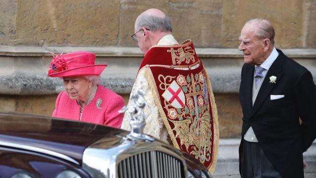 Nữ hoàng Elizabeth II và Hoàng tế Philip