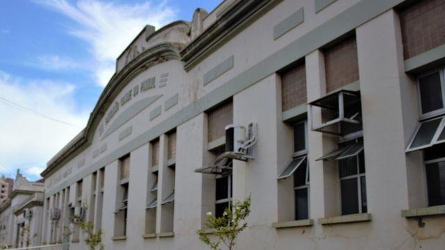 fachada da Santa Casa de São Carlos