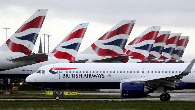 Awyrennau British Airways