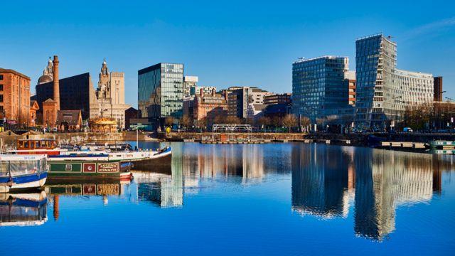 Frente marítimo de Liverpool.