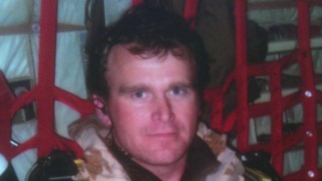 SAS trooper Nick Brown