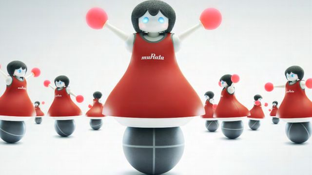The robot dolls from Murata