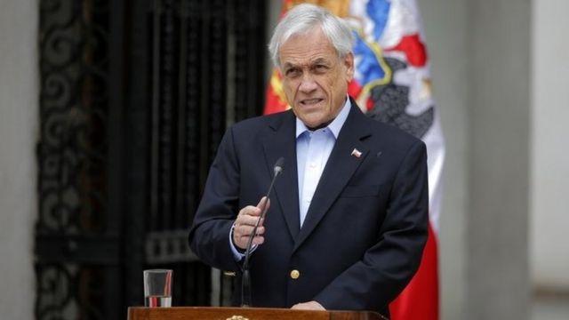 سباستین پینیهرا، رئیس جمهور شیلی