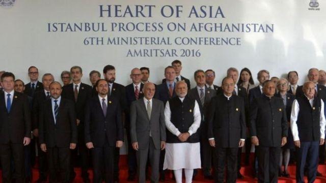 हार्ट ऑफ एशिया सम्मेलन में शरीक नेता