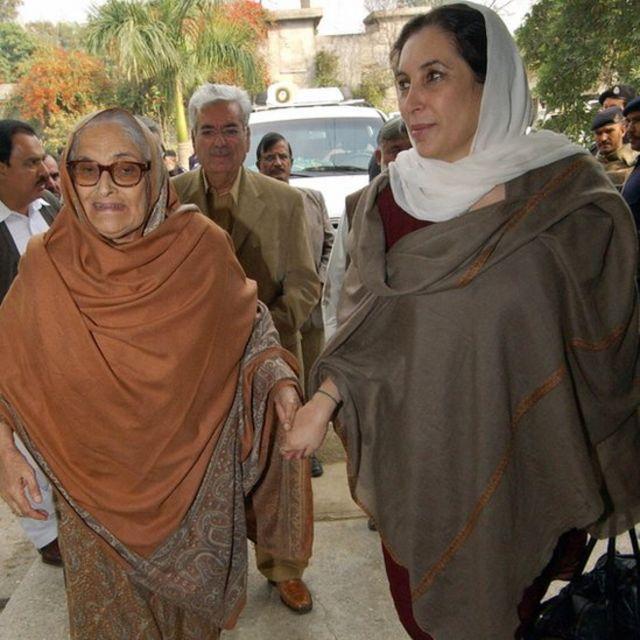 بیگم نسیم ولی خان اور بے نظیر بھٹو