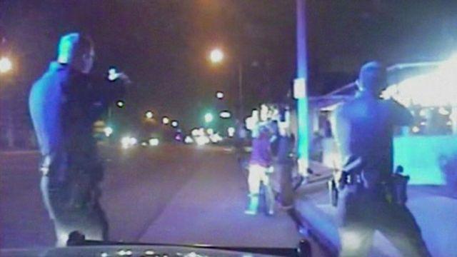 Gardena Police Department footage