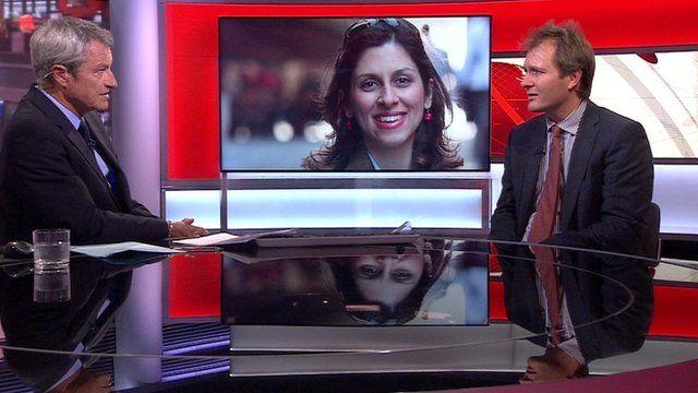 Richard Radcliffe being interviewed