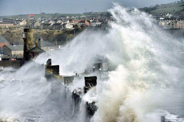 Paul Kingston: tormentas en Cumbria