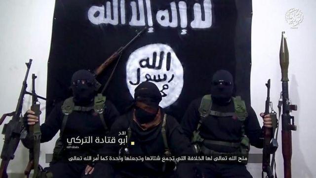 ژوئیه ۲۰۱۹ داعش در پیامی ویدئویی، شاخه رسمی خود را در ترکیه معرفی کرد
