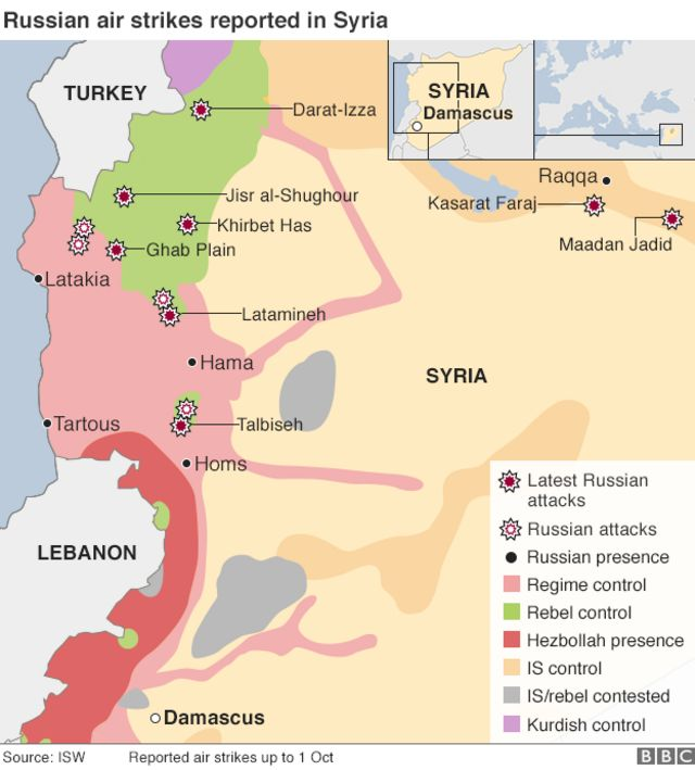 David Cameron condemns Russia's strikes in Syria