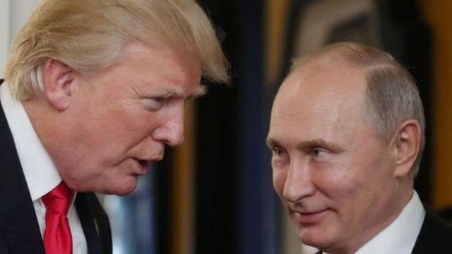 الرئيسان بوتين وترامب يلتقيان في هيليسنكي