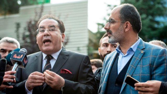 المعارض المصري البارز في تركيا، أيمن نور (أرشيفية)