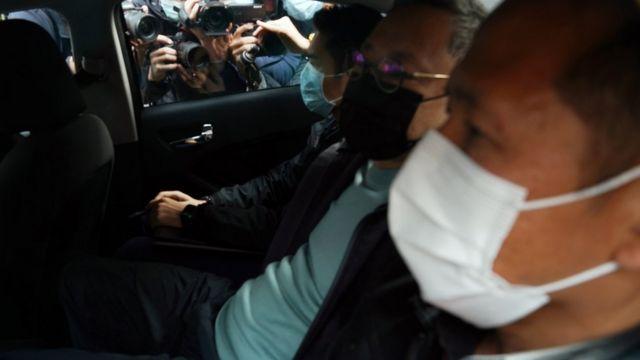 香港警方此次行动拘捕至少53人,包括参与统筹去年民主派初选的戴耀庭(图中)。