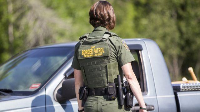 Controle da patrulha de fronteira nos EUA