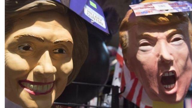 منافسة حادة بين كلينتون وترامب في الانتخابات الرئاسية الأمريكية