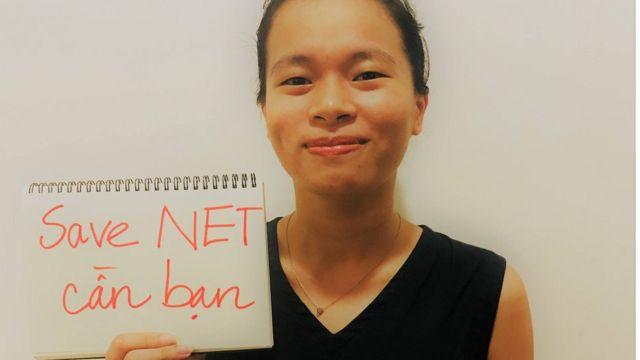 Nguyễn Vi Yên, nhà hoạt động xã hội, chủ nhiệm nhóm Tinh thần Khai Minh