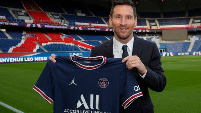 """Messi ficha por el PSG: """"Todo en el club coincide con mis ambiciones  futbolísticas"""" - BBC News Mundo"""