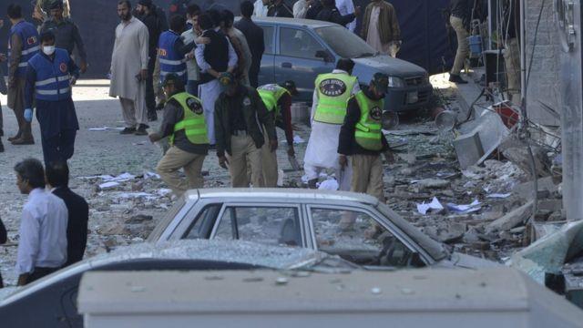 Pakistan patlama