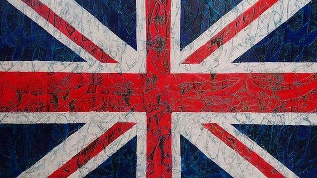 تابلوی 'انگلستان' اثر فریدون امیدی