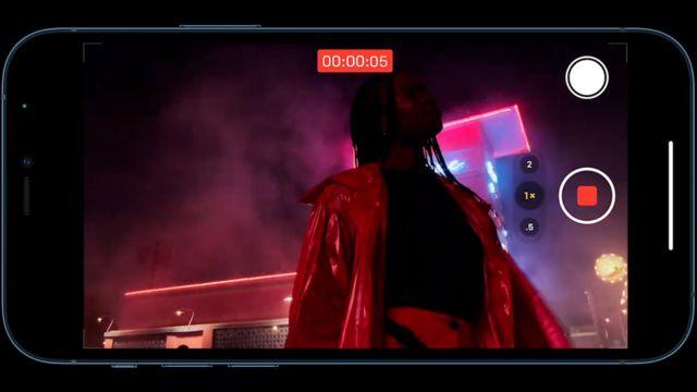 Кадр с презентации iPhone 12