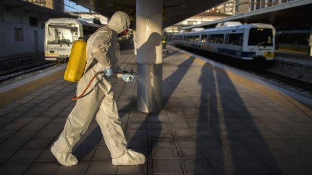 Desinfección en España