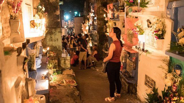 Peringatan Hari Orang Mati di Filipina