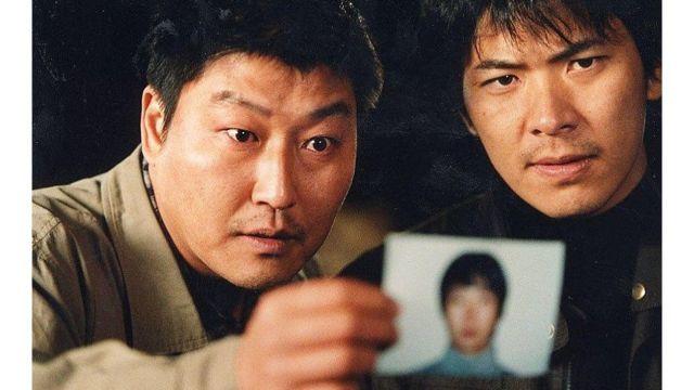 사건을 소재로 만들어진 영화 '살인의 추억'의 한 장면
