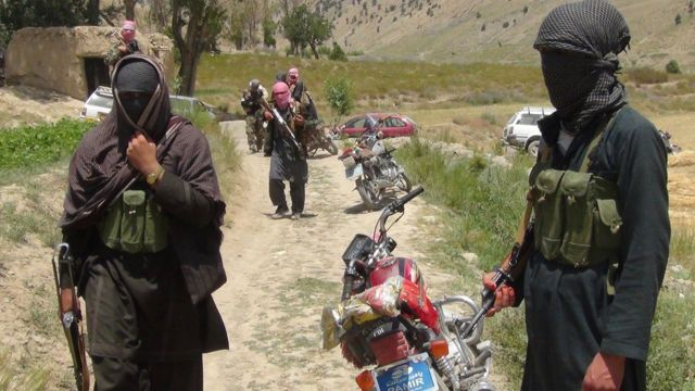 Milicianos del Talibán