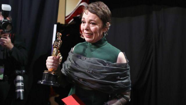 Olivia Colman, Oscar a mejor actriz