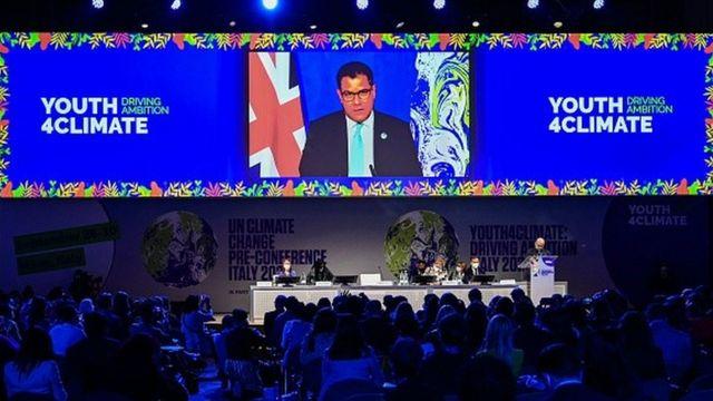 Plenário da Youth4Climate