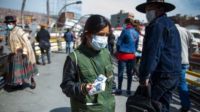 La Paz'da bir çocuk