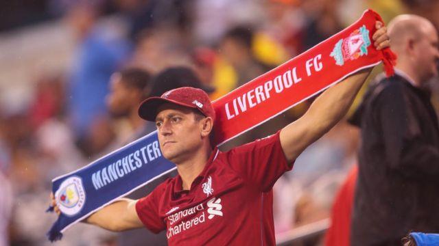 Aworan alatilẹyin to mu ami Liverpool ati Man City lọwọ