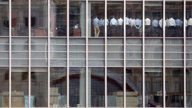 Reunião de demissões no Lehman Brothers