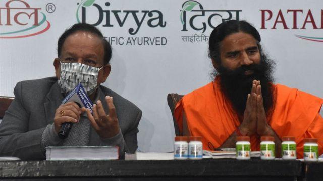 Міністр охорони здоров'я разом із гуру йоги