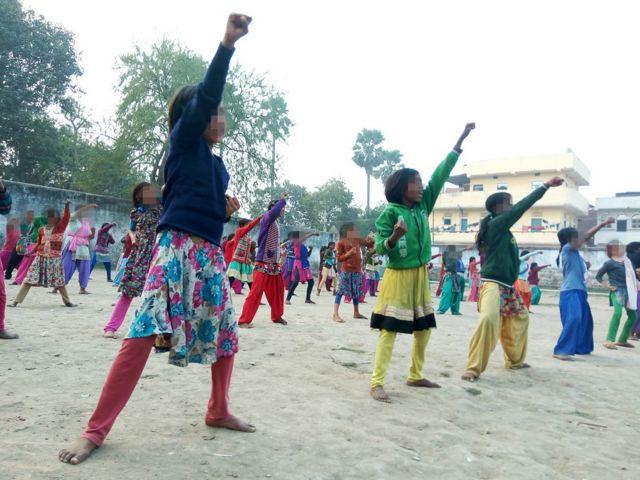 पटना, प्रेरणा छात्रावास की लड़कियां