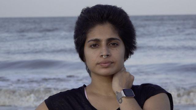 Nataša Noel na plaži u Indiji