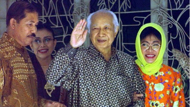 Salah satu yang dikagumi dari Suharto adalah gaya kepemimpinannya yang tegas