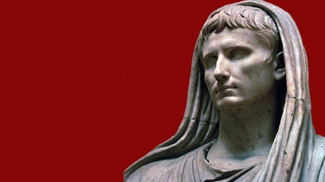 Estatua del emperador Augusto