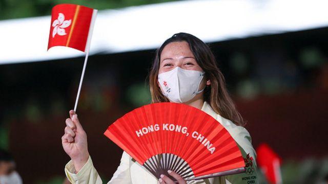 Спортсменка из Гонконга