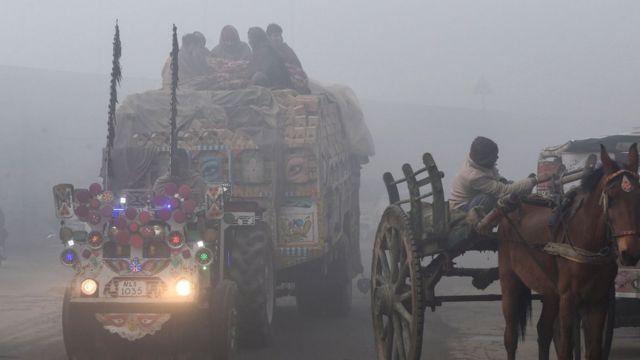 ਲਾਹੌਰ ਵਿੱਚ ਸਮੋਗ ਦੀ ਫਾਈਲ ਫੋਟੋ।